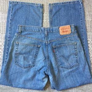 Levi's 33x32 569 Straight Leg Jeans